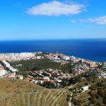 Villa con vistas impresionantes sobre el Mediterráneo y el casco antiguo de Almuñecar