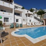 Villa divided into 5 apartments and garage with stunning panoramic views of the sea.